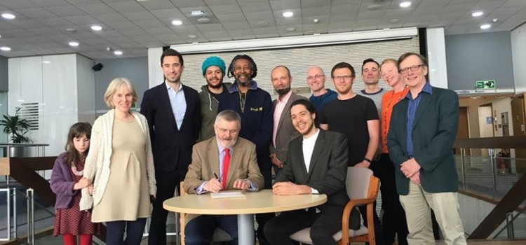 RUSS signs land agreement with Lewisham Council