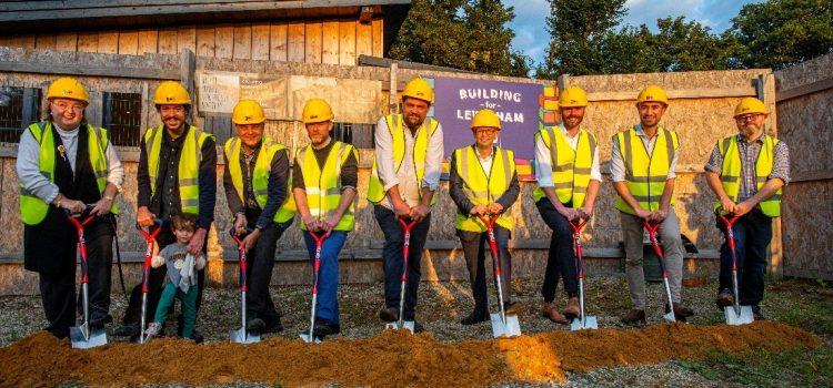 Construction begins: London's largest Self-Build Community Housing Project